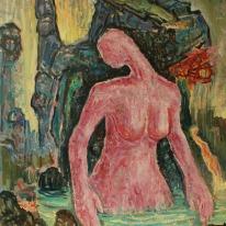 Presage. Oil on canvas 100 x 90 cm. 2015