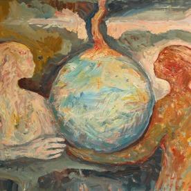 Dawn. Oil on canvas 100 x 140 cm. 2016