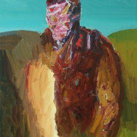 Explorer. Oil on canvas 90 x 70 cm. 2019